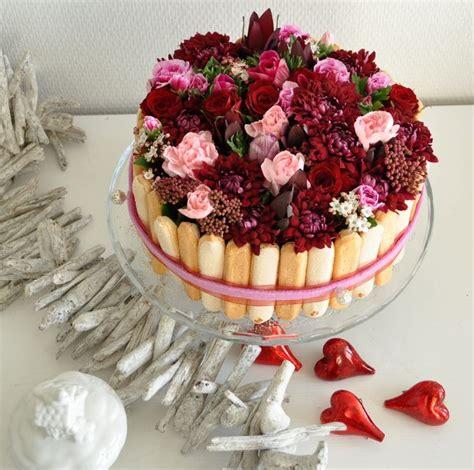 bloemen in gelei taart 25 beste idee 235 n over valentijn taart op pinterest