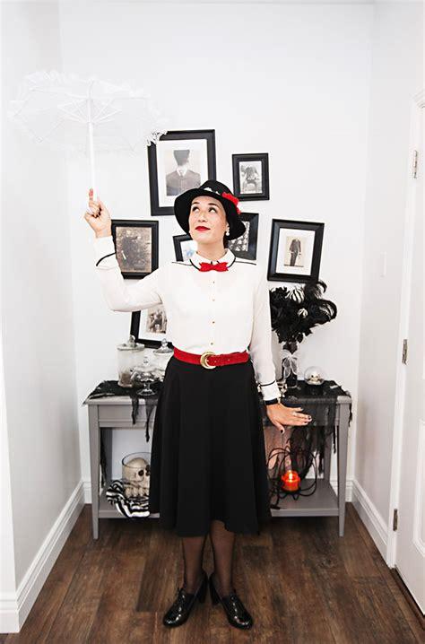 diy mary poppins costume   closet armelle blog