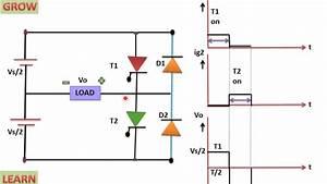 Single Phase Half Bridge Inverter Inverter   U0939 U093f U0928 U094d U0926 U0940   Learn And Grow