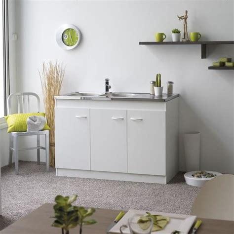 placard sous evier cuisine meuble sous évier de cuisine 120 cm sousev n 2 achat