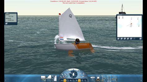 sail simulator  sailing  optimist youtube