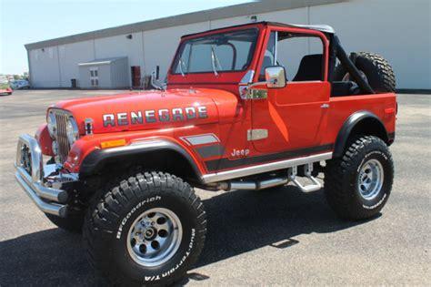 jeep cj renegade 1977 jeep cj7 renegade