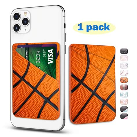 These functional phone credit card holders adhere to the back of your smartphone or smartphone case, enabling you to keep your essential items, like credit cards and ids, in a slim leather pocket. Phone Card Holder, Tekcoo Luxury PU Leather ID Credit Card Wallet Sticker Case Fans Pouch Pocket ...