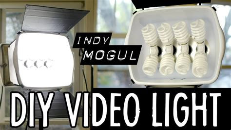 powerful diy video light  watt equivalent