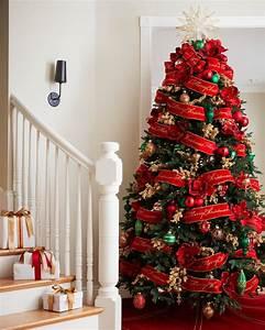 Red Christmas Tree Ribbon | Balsam Hill