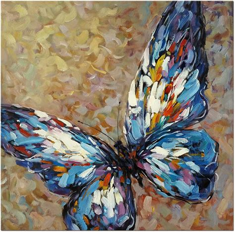 Blue Butterfly  Hand Painted Modern Impressionist Oil. Diy Waterproofing Basement. Bars For Basements. Old Basement Remodel. Walk Out Basement Ideas. Secure Basement Door. Basement Sydney Gigs. Inexpensive Ceiling Ideas For Basement. How To Plumb A Basement Bathroom