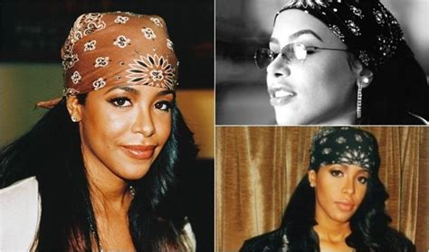 aaliyah  fashion scrunchies neons bandanas
