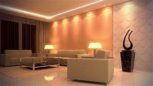 Led Ceiling Lights Ideas - Living Room