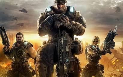 Gears War Wallpapers Desktop Games Background Backgrounds