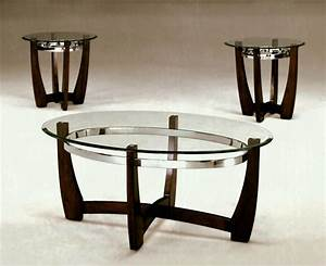 coffee table charming clear oval modern glass piece set With oval glass coffee table set