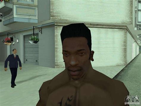 The New Face Of Cj For Gta San Andreas