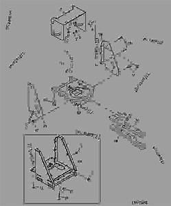 Drawbar And Pto Shield - Tractor John Deere 5320