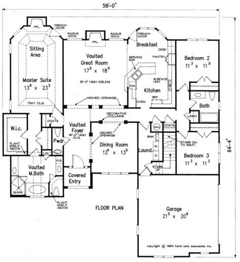 scarborough house floor plan frank betz associates