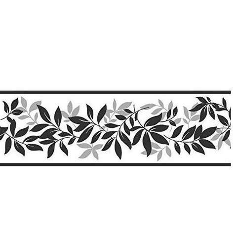 cenefa para pared de color negro y plateado cenefas para pared
