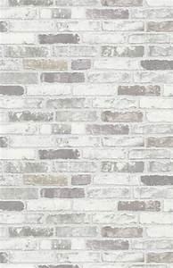 tapete brix erismann vliestapete 6703 10 670310 stein With balkon teppich mit tapete stein weiß