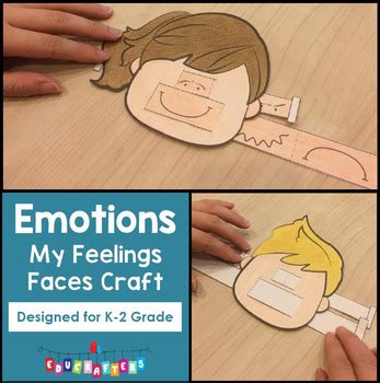 feelings faces craft freebie emotions by educrafters tpt 428 | original 2856519 1