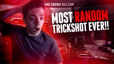 MOST RANDOM TRICKSHOT EVER!! (AW) - YouTube