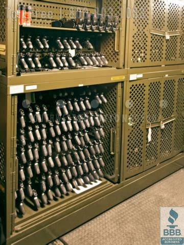 secure storage  military armory rfid inventory