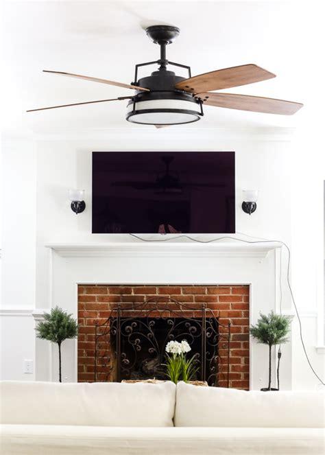 Big Living Room Fan by Living Room Update Ceiling Fan Bless Er House