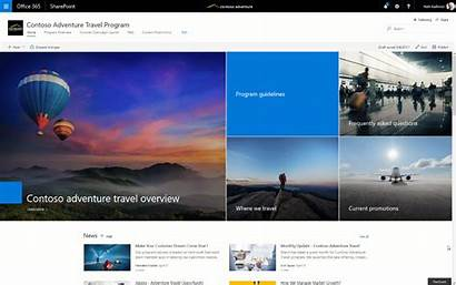 Sharepoint Communication 365 Site Microsoft Office Customers