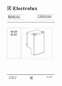 Electrolux Caravan Rm 4360 Operating Instructions