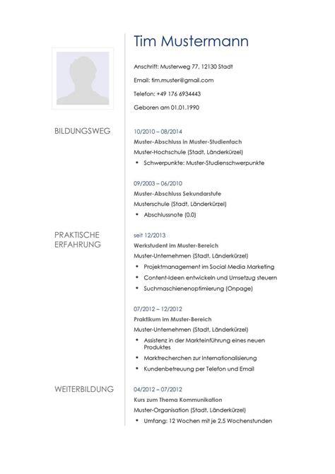 Muster Für Lebenslauf by Lebenslauf Muster F 252 R Multimediak 252 Nstler Lebenslauf Designs