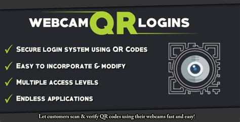 webcam qr login system codeholdernet