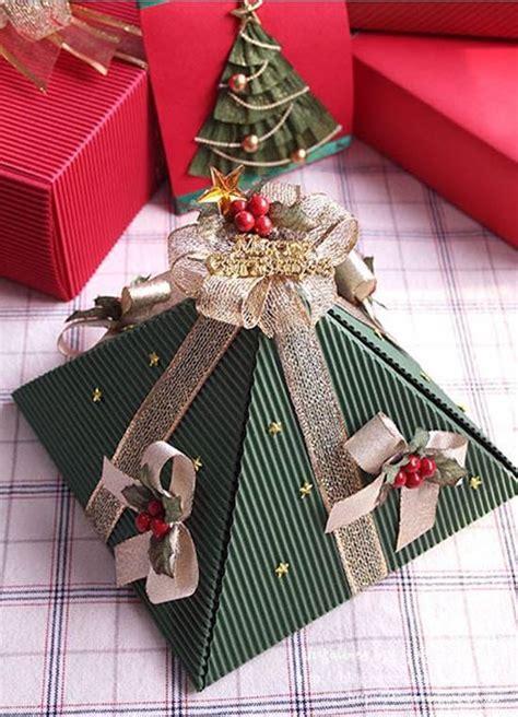 diy pyramid gift box icreativeideascom
