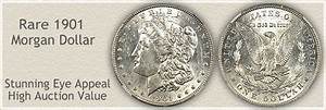 Coin Size Chart 1901 Morgan Silver Dollar Value Discover Their Worth