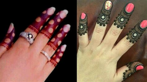 Unique 2 Finger Mehndi Design Tutorial easy And Simple
