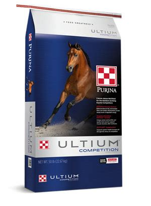 purina ultium competition horse formula  tractor supply