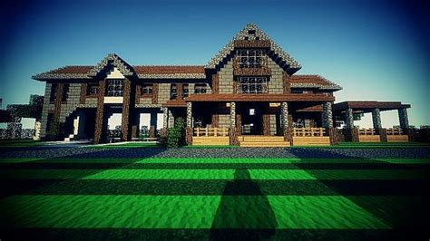 minecraft country house country home ranch house by goldeneye33 minecraft