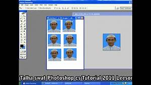 How To Make Create Passport Size Photos In Photoshop Urdu Tutorial Lesson 39 Part 5