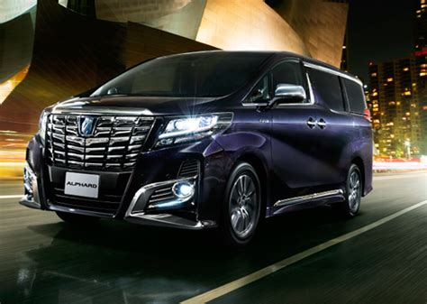 Toyota Alphard Backgrounds by All New Toyota Alphard And Vellfire Officially Launched In