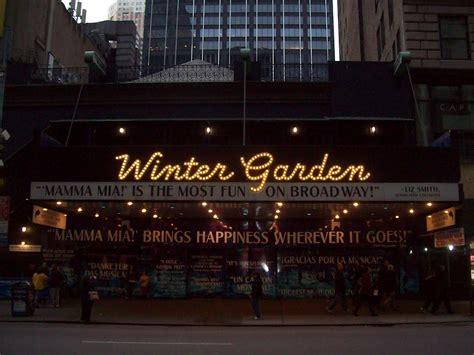 winter garden theater nyc panoramio photo of winter garden theater on broadway nyc