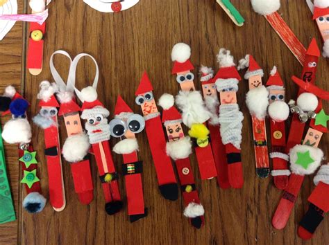 more than elementary christmas crafts