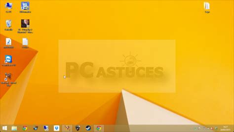 bureau windows 8 1 pc astuces afficher rapidement le bureau windows 8 1