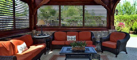 pennsylvania patio patio privacy screens shutters