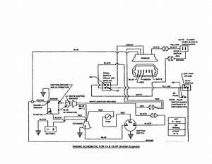 Starter Solenoid Wiring Diagram For Lawn Mower