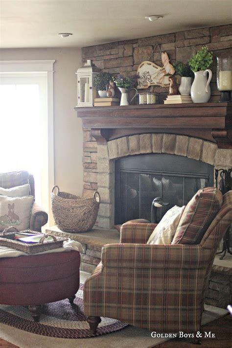 spring mantel family room family room design family