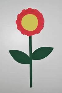 Blumen Basteln Vorlage : basteln mit papptellern kinderspiele ~ Frokenaadalensverden.com Haus und Dekorationen