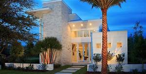 belle maison darchitecte pres dun lac a orlando With plan de maison moderne 11 maison contemporaine en floride au design luxueux et