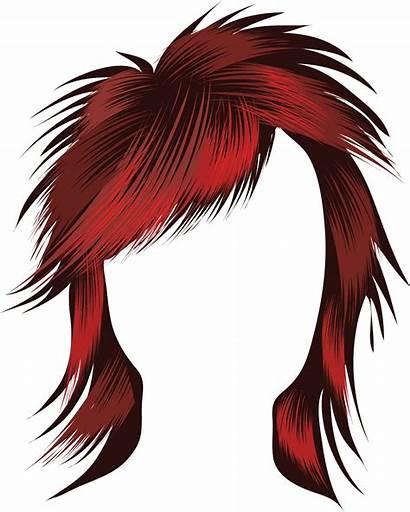 Clipart Hair Clip Wig Rockstar Cliparts Royalty