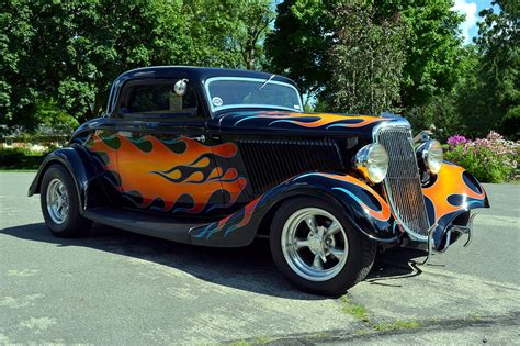 1934 Ford Coupe Hot Rod | 383 Stroker Chevrolet V8 - YouTube