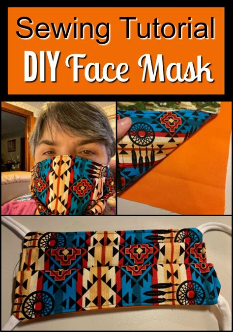 sewing tutorial diy face mask  stuff  success