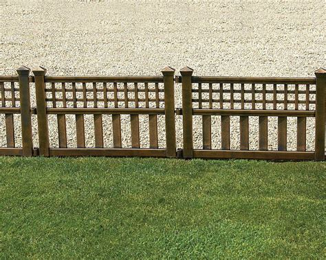 garden border fencing black jbeedesigns outdoor