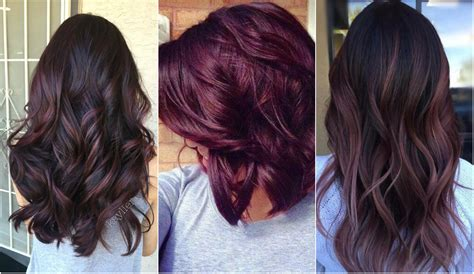 plum hair color ideas   hairstyles