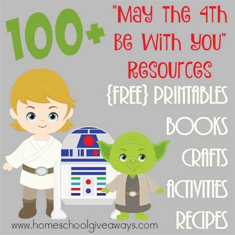 """FREE 100+ """"May the 4th be with You"""" Resources"""