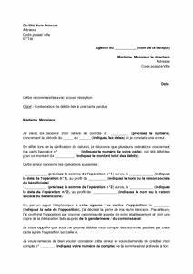 Lettre De Contestation Pv : lettre de contestation de d bits li s l 39 utilisation d 39 une carte bancaire perdue mod le de ~ Gottalentnigeria.com Avis de Voitures