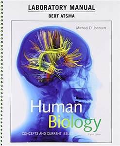9780134283814  Laboratory Manual For Human Biology